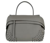 Wave Bag Small Grey Satchel