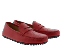 Loafers & Slippers - Signature Loafer Calf Hibiskus Red