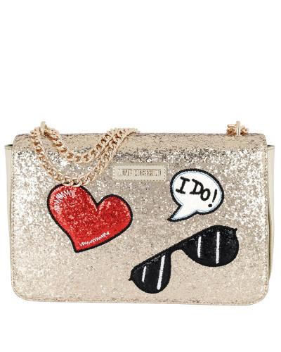 Freies Verschiffen Fälschung Moschino Damen Glitters Metallic Shoulder Bag Oro Tasche Rabatt Sehr Billig Gefälschte Online Wie Viel Billig Limited Edition fr6YukRB