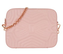 Sunshine Quilted Camera Bag Light Pink