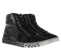 Patchwork Sneakers Nero