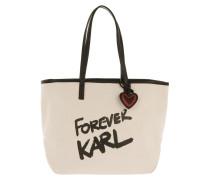 Shopper Forever Canvas Shopping Bag Natural