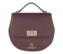 Ophelia Mini Shoulder Bag Burgundy