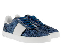 Glitter Sneakers Marine/White Sneakers