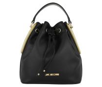 Calf Bucket Bag Oro Beuteltasche