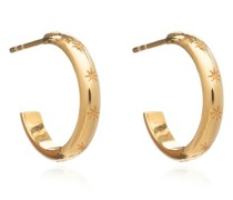 Ohrringe Star Studded Medium Hoops