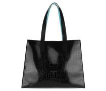 Tiger Tote Bag PVC Black