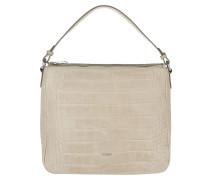 Athina Cortina Hobo Bag Croco Soft Nature