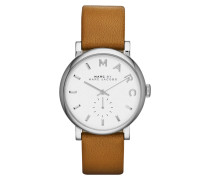 Armbanduhr - Baker Stainless Steel Leather Watch Cognac