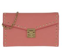 Umhängetasche Patricia Large Continental Wallet Cocoa rosa