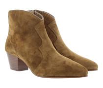 Boots & Booties - Hurrican Cowboy Bootie Prestige Suede Russet