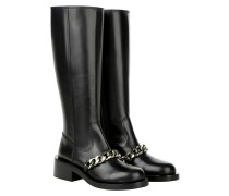 Boots & Booties - Chain High Boot Black