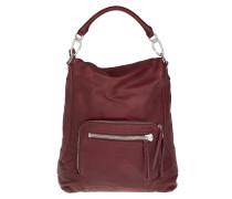 Tasche - Hitachi Double Dye Hobo Bag Ruby - in rot