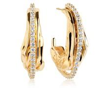 Ohrringe Vulcanello Grande Earrings Yellow Gold