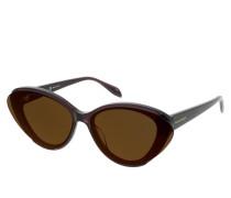 Sonnenbrille AM0249S-004 66 Sunglasses Violet-Violet-Red
