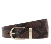 Gürtel Grazia Belt 3 cm Bitter Chocolate Brown