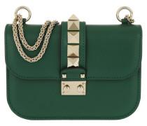 Lock Shoulder Bag Forest Green Umhängetasche