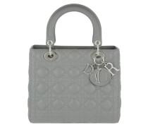Lady Dior Medium Tote Grey