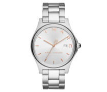 Henry Classic Watch Silver Armbanduhr