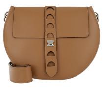 Carousel Design Crossbody Bag Cuir Tasche
