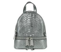 Rhea Zip XS Messenger Backpack Pewter Rucksack silber