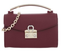 Satchel Bag Mina XS Handle Burgundy
