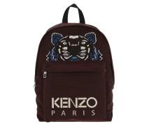 Kanvas Tiger Backpack Bordeaux Rucksack