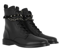 Boots & Stiefeletten Rockstud Combat Smooth Leather