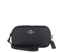 Tasche - XBody Pouch Pebbled Leather Light Gold/Navy