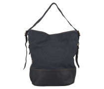 Secchiello Stampa Hobo Bag Blue