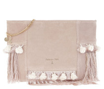Fringed Clutch Butterfly Rose rosa