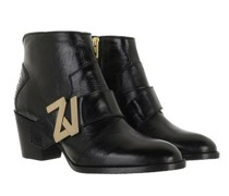 Boots & Stiefeletten MOLLY ZV INITIALE VINTAGE PATENT