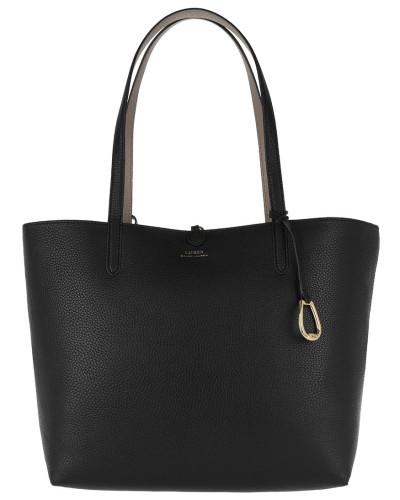 Shopper Reversible Tote Medium Black/Taupe grau