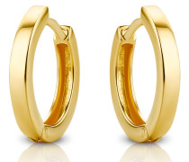 Ohrringe 14KT Creole Earring Yellow Gold