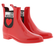 Boots Rainboot Pvc Rosso