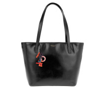 Tasche - De Beauvoir Large Ziptop Tote Black