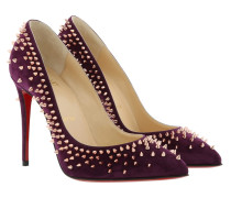 Pumps Escarpic 100 Suede Merlot