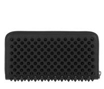 Portemonnaie Panettone Zip-Around Wallet Leather Black/Black