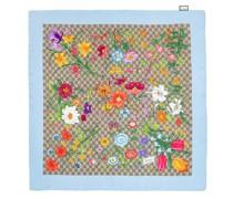 Tücher & Schals Floral Print Foulard Silk