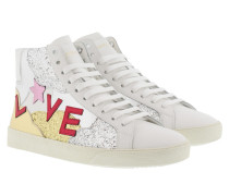 SL/06 Love High Top Sneakers White/Multi Sneakerss weiß
