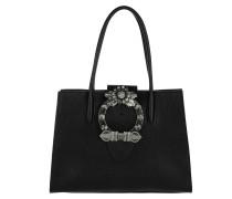 Madras Shopping Bag Nero Tote