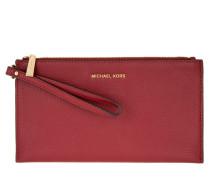 Tasche - Mercer LG Zip Clutch Leather Cherry
