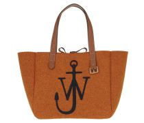 Shopper Belt Tote Bag Orange