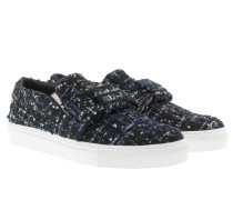 Slip On Boucle Black Sneakerss