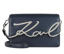 Umhängetasche K/Signature Shoulderbag Navy