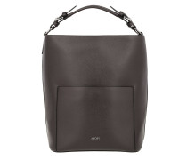 Mina Hobo Medium Dark Grey Bag grau