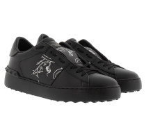 Open Panther Sneakers Nero/Bianco weiß
