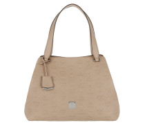 Signature Monogrammed Hobo Tote