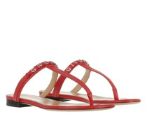Sandalen & Sandaletten Elba Flat Thong Sandals Leather