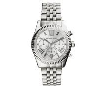 Lexington Silver-Tone Watch